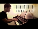 Alan Walker Faded Fade piano cover by Ducci lyrics