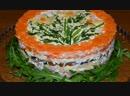 Салат Весенний букетик нарядный и вкусный