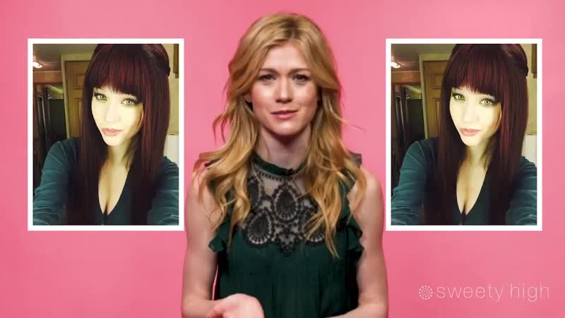 @Kat_McNamaras reactions to her old photos are to die for!! We love her - - @CW_Arrow @ShadowhuntersTV