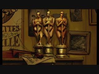 Трио из Бельвиля. Les triplettes de Belleville. Sylvain Chomet 2003