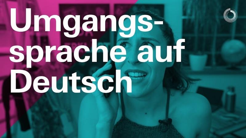 Umgangssprache auf Deutsch — Learn German with Ida | Ida erklärt A2B1