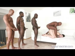 Private - hannah vivienne - interracial gangbang