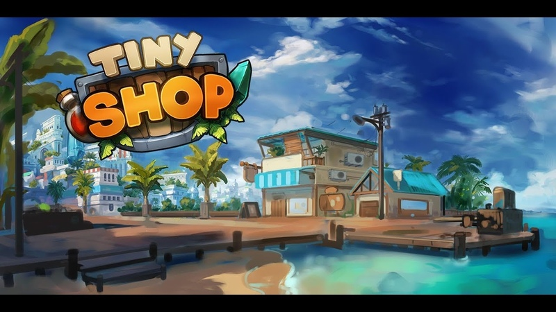 Tiny Shop Cute RPG store android game first look gameplay español