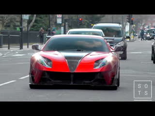 Supercars in London February 2019