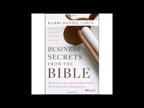 Business Secrets from the Bible Spiritual Success Strategies for Financial Abundance Audio