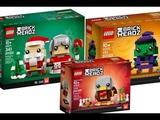 King News #52 Фото - Обзор наборов Lego BrickHeadz 41632 Гомер Симпсон и Красти и т.д