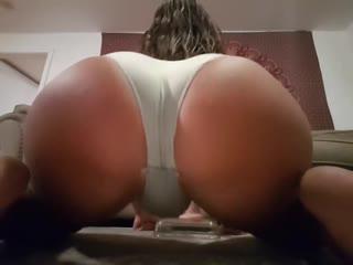 Bubblebumbutt - fat booty femboy one piece big dildo (shemale, tgirl, tranny, sissy)