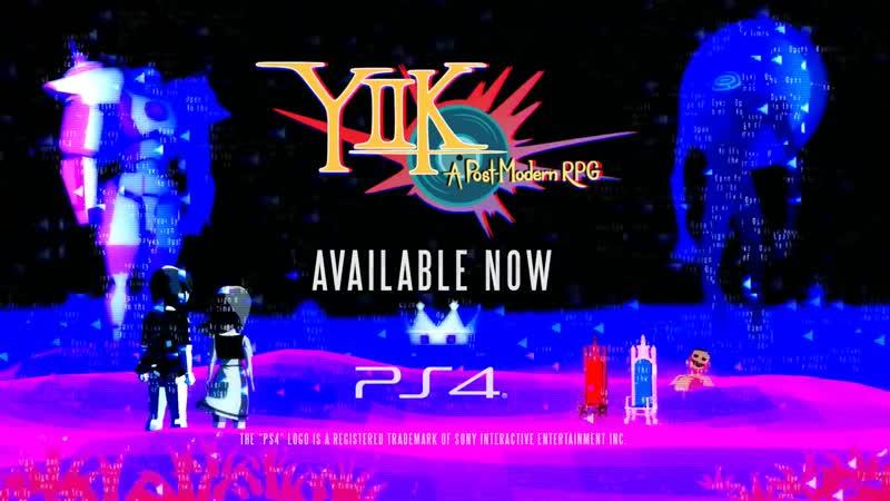 YIIK A Post-Modern RPG - Launch Trailer ¦ PS4