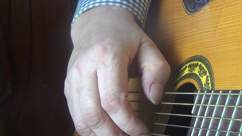 Возрождение русской 7 стр. гитары Обучение часть 20 Педаль