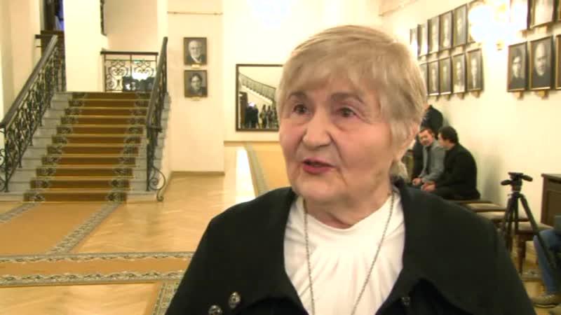 Главный редактор газеты Казанские истории Любовь Владимировна Агеева об открытии Театрального музея