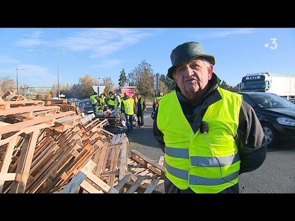 Marcel, gilet jaune, chauffeur routier à la retraite à Alençon dans l'Orne