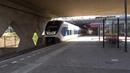 SLT 6 naar Uitgeest vertrekt vanaf Station Amsterdam Sloterdijk