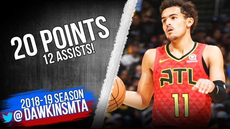 Trae Young Full Highlights 2018.11.11 Lakers vs Hawks - 20 Pts, 12 Asts! | FreeDawkins
