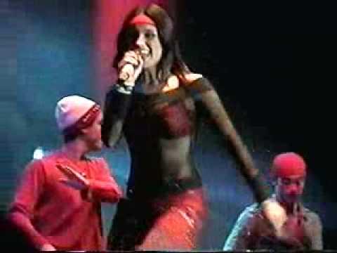 Dulce Maria con Clase 406 - Bye Bye Sexy De Negro y Rojo