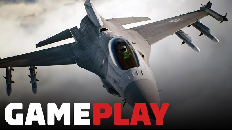 Ace Combat 7 7 Minutes of Brand New Single Player Gameplay