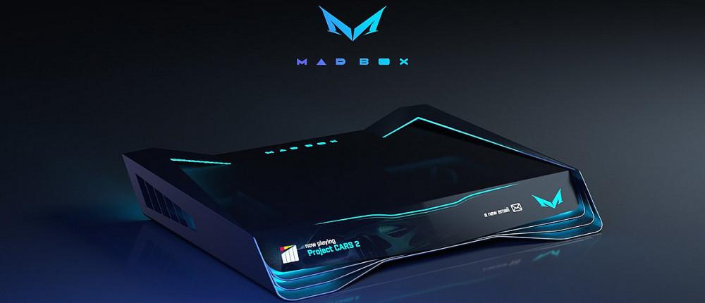 Mad Box - утвержденный дизайн