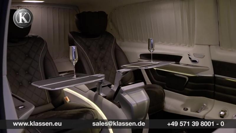 Mercedes-Benz V-Class VIP Business Lounge by KLASSEN ®