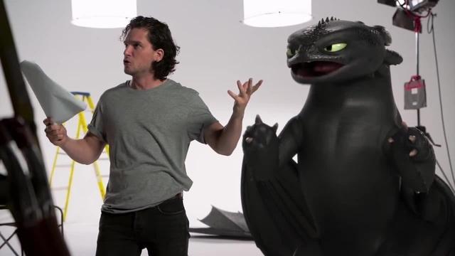 Кастинг Кита Харингтона в мультфильм Как приручить дракона 3 3