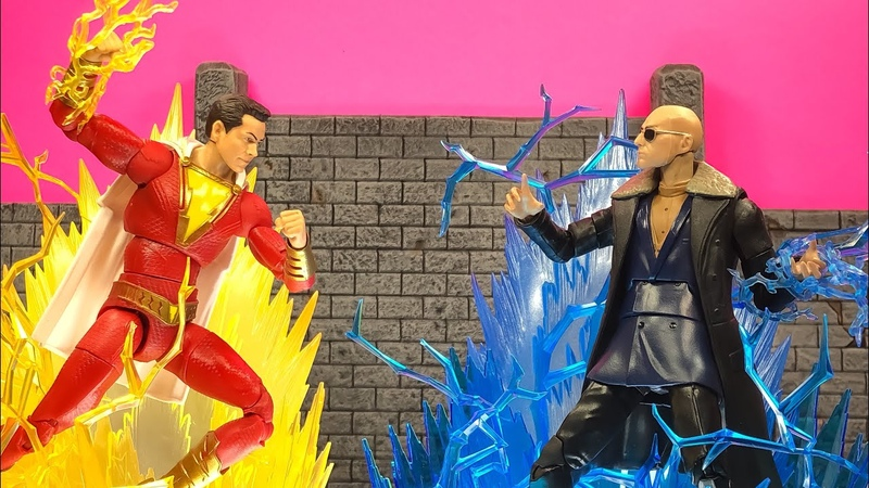 DC Multiverse Shazam and Doctor Sivana Action Figure Review