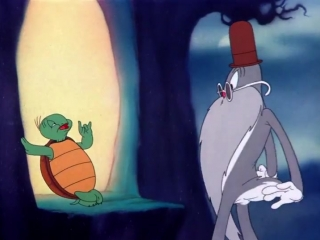 Looney Tunes (Bugs Bunny, Tortuga Cecil) - Tortoise Wins By A Hare (Audio Latino)