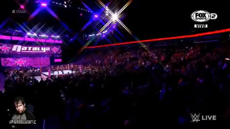 WWE RAW _ Ronda Rousey Natalya vs Alexa Bliss Mickie James 10-06-18 _ Españo.mp4