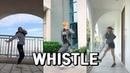 '휘파람'(WHISTLE)remix Dance Challenge - BLACKPINK (블랙핑크)