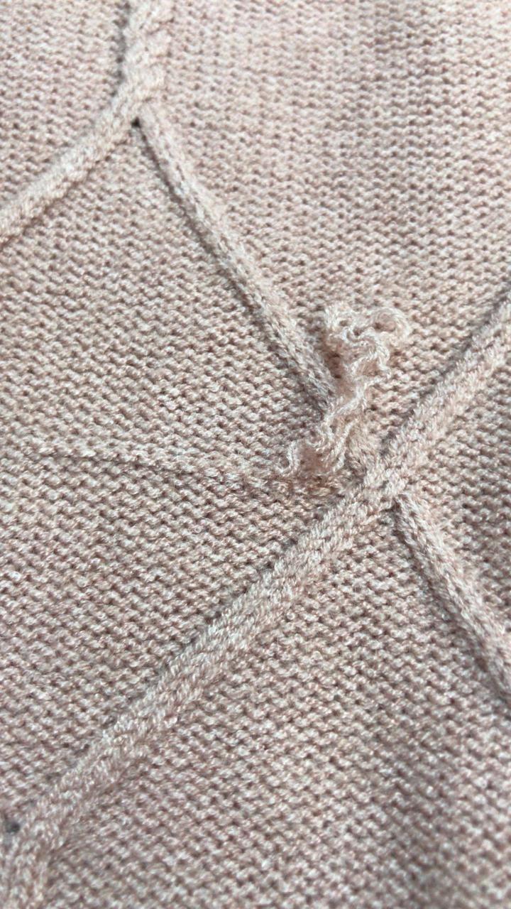Ремонт вязанного трикотажа