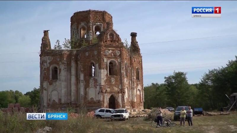 Жители Климовского района стараются восстановить православную святыню