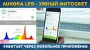 AURORA LED интеллектуальный фитосветильник с регулируемым спектром