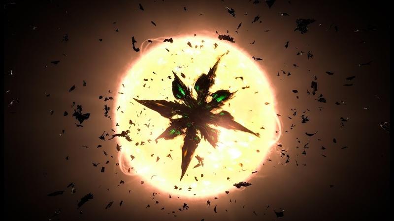 Thargoid Hydra - Solo Kill | Federal Corvette