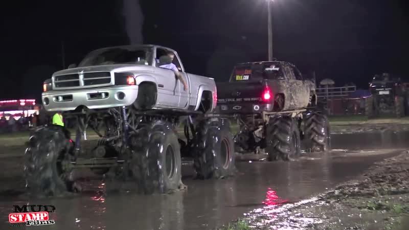 Friday Night Tug of War Michigan Mud Jam 2014