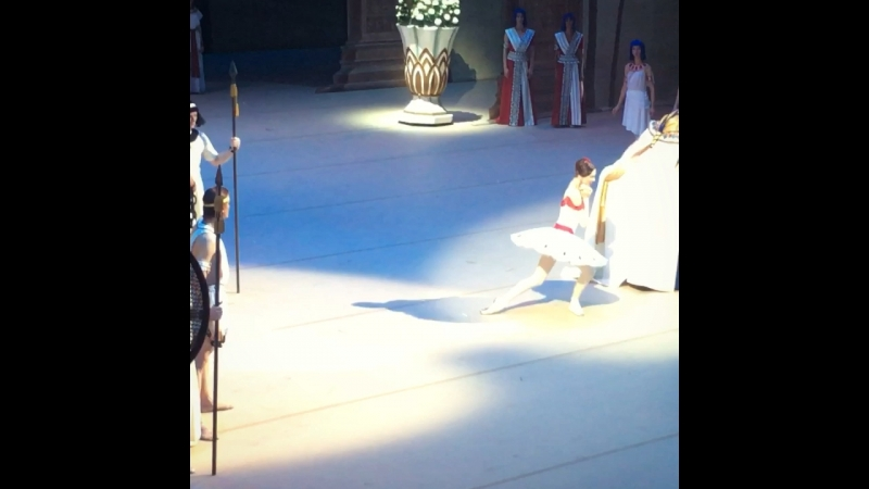 "Video - 52, 19.07.2018 ""La Fille du Pharaon"" Svetlana Zakharova and Denis Rodkin, BolshoiTheatre 🎭"