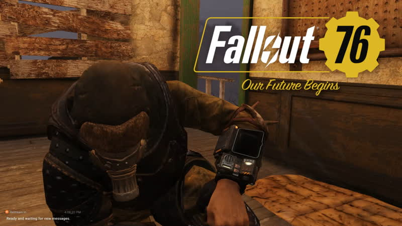 Fallout 76 PC online stream in the Wasteland we trust