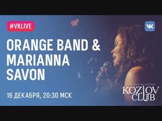 Orange band & marianna savon
