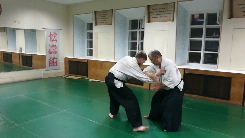 Aikido techniques from grab of shoulder