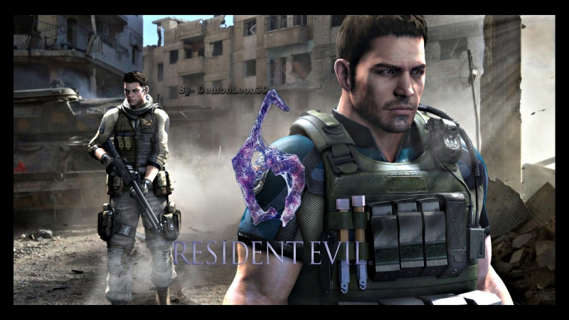 Resident Evil 6 - Chris Redfield and Piers Nivans campaign [ 2 ]