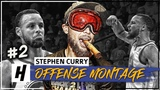Stephen Curry MVP Montage, Full Offense Highlights 2017-2018 (Part 2) - CHEAT-CODE Mode!