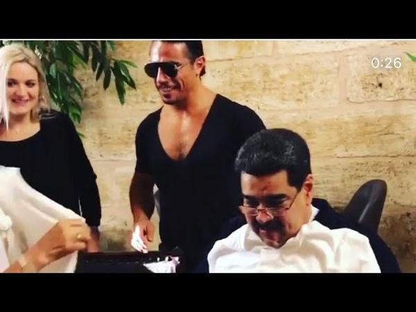 NICOLAS MADURO CON SALT BAE EN NUSR-ET (TURQUIA)