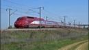 High speed trains TGV Thalys Eurostar