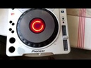 CDJ-800MK2 with built-in battery and speaker. A toy for my little son))