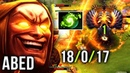 Abed Refresher Invoker Back to TOP-1 MMR WORLD 18-0 -17 PERFECT SCORE - Enough to Win Patch 7.21