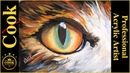 Cat Eyes Best Way to Paint Them 40 Minute Detailed Acrylic Tutorial for Beginners to Advanced