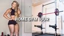 HOME GYM TOUR! Cost Breakdown Exercise Demonstration