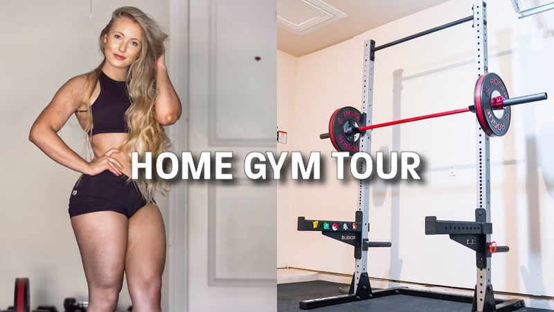 HOME GYM TOUR Cost Breakdown Exercise Demonstration
