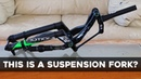 The Wild Looking Motion Ride E18 Enduro Fork