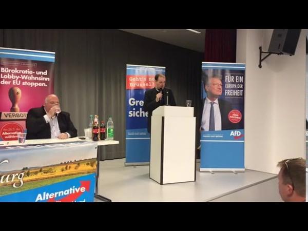 Dr. Gottfried Curio (AfD). Wir brauchen eine Rückführung,Abschiebung Verabschiedungskultur.23.4.19