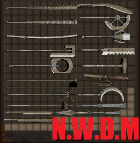 New Weapons Dissemination mod / Новое оружие (RU)