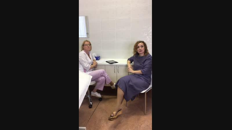 Беседы с косметологом в начале недели Фракционное омоложение и пилинги