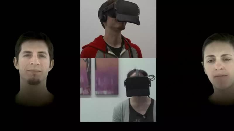 Отслеживание лица в виртуальной реальности из лаборатории Oculus