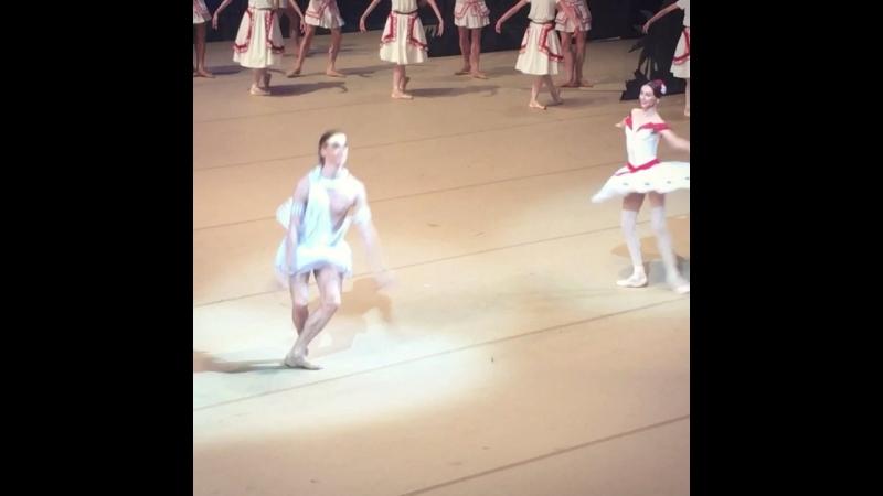 "Video - 43/1, 19.07.2018 ""La Fille du Pharaon"" Svetlana Zakharova and Denis Rodkin, BolshoiTheatre 🎭"